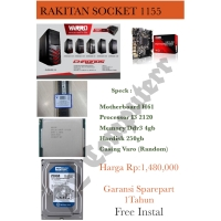 PC RAKITAN MURAH I3 2120 SOCKET 1155