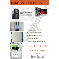 PC RAKITAN MURAH I5 2500 SOCKET 1155