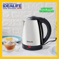 Teko Listrik Stainlees - Stainless Electric Kettle 1.8Liter IDEALIFE