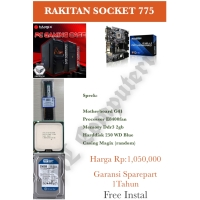 PC RAKITAN MURAH E8400 Core2 Duo SOCKET 775