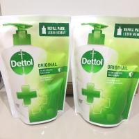 Dettol handwash refill 200ml.Isi ulang Dettol hand wash 200 ml hijau