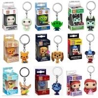 Funko POP! Keychain (Baymax, Alien, Pooh, Mickey, Ariel, Genie, Disney
