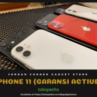 IPHONE 11 64 GB ORIGINAL APPLE GARANSI RESMI AKTIF FULLSET