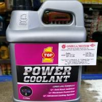 TOP 1 Power Coolant PINK (isi warna merah) air radiator 4liter