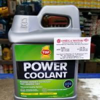 TOP 1 Power Coolant GREEN (isi warna hijau) air radiator 4liter