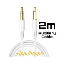 Audio Cable 3.5mm to 3.5 mm Male to Male Extension 2m Jack AUX Cable