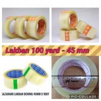 LAKBAN 100 YARD LAKBAN BENING KUALITAS DAIMARU LEM PLASTIK OLSHOP