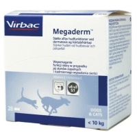 VIRBAC MEGADERM 4ML (BOX) VITAMIN BULU KUCING-ANJING (JAMINAN BAGUS)