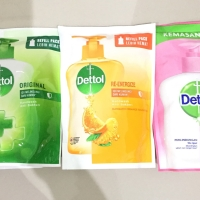 Dettol handwash refill 200ml. Sabun cuci tangan dettol 200 ml