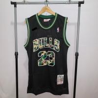 Jersey Basket Swingman NBA Chicago Bulls Michael Jordan hitam camo