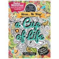 A Cup of Life Buku Mewarnai Anti Stress Dewasa Adult Coloring Book