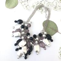 Kalung fashion kristal etnik