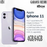 IPHONE 11 64GB GARANSI RESMI TAM/IBOX