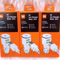 Charger Mobil Xiaomi 2 USB Mi Car Charger 2 in 1 Saver Mobil