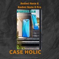 Anti Gores Hydrogel Film Depan Belakang Xiaomi Redmi Note 8, 8 Pro
