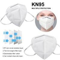 KN95 masker 5 layer filter 95% medical mask face mask virus