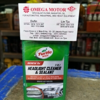 Turtle Wax Headlight Cleaner & sealant (pengkilap lampu) 288ml