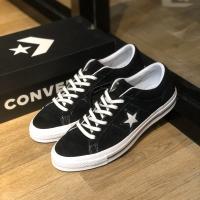 Converse one star black white original