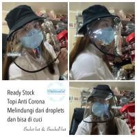 Topi Anti Corona import anti droplets melindungi virus covid