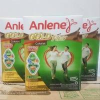 Anlene gold plus Coklat 650gram /susu anlene gold vanila 650gr