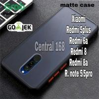 Phone soft Case xiaomi redmi 5 5plus 6a 8 8a note 5 5pro pro plus soft - REDMI 8, Hitam