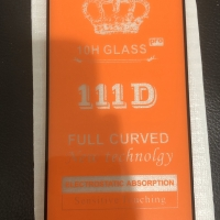 Tempered Glass 9D untuk Redmi Note 7 (Satuan)