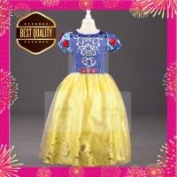 Kostum Anak Snow White / Gaun Pesta Anak Princess Import Best Seller - 110