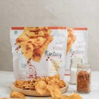 New pack Keripik Kentang Asin Pedas Potato Chips