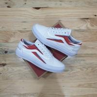 Sepatu Vans Old Skool X David Bowie Aladin Sane White Premium BNIB