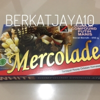 Mercolade White Premium Chocolate Compound Coklat Batang Putih 250gr