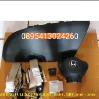 Airbag full set komplit honda mobillio brio brv 2016-2019