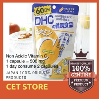 DHC Vitamin C for 60 Days (120 tablets) 100% product of Japan