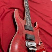 Gitar Schecter Merah Elektrik Guitar