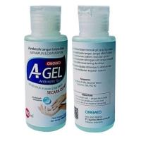 A Gel 100ml / Antiseptik OneMed Agel 100 ml / Hand Sanitizer / Aseptic