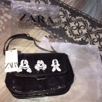 tas zara mickey black