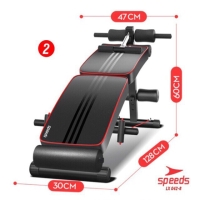 SIT UP BENCH PAPAN Speeds 2 in 1 SIX PACK ALAT FITNES BOARD 042-8