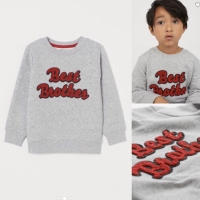 Sweatshirt H&M / sweater best brother / baju anak laki laki