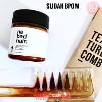 POMADE NO BAD HAIR NO.1 CREAMY CLAY MATTE WATERBASED FREE TEXTURE COMB