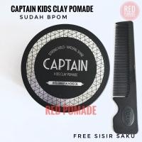 CAPTAIN KIDS CLAY POMADE KID UNTUK ANAK ANAK WATERBASED 100 GRAM