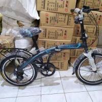 Sepeda Lipat Folding Bike Anak dan Dewasa Odessy 7 Speed 20