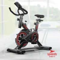 Spinning bike Speeds 042-111 20kg Sepeda Fitness Alat Fitness Sepeda S