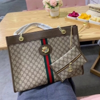 Tas Ghucci Free pouch Mirror Quality Tote bag wanita import totebag