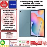 Samsung Galaxy Tab S6 Lite 4GB/128 S 6 Lite 4/128 GB 128GB Resmi-Blue