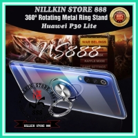 HUAWEI P30 LITE ULTRA THIN I-RING SOFT CASE MAGNETIC CLEAR SOFTCASE