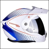 Scorpion ADX 1 Horizon Pearl White Red Blue
