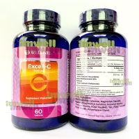 Wellness Excell C Vitamin C 500mg isi 60 - 100% Original