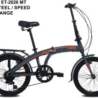 Sepeda Lipat Folding Bike Exotic 2026 MT 20