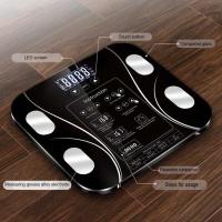 Timbangan badan digital LED / smart body fat scale / timbangan diet