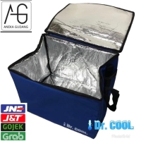 Tas Aluminium Go Food Go Send 40x30x30cm Pendingin Penyimpan Es Bekal