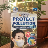 Masker Unicharm | Protect Pollution | isi 2 pcs